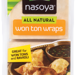 Pre-made wonton wrappers can be found in your supermarket's produce section, often near the mushrooms and soy products.